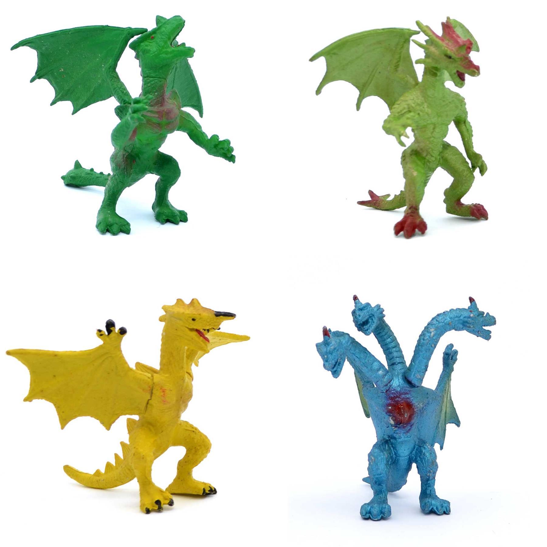 Action Figure Jouet Dragons Dinosaures Godzilla Animaux Cadeau d/'anniversaire Set