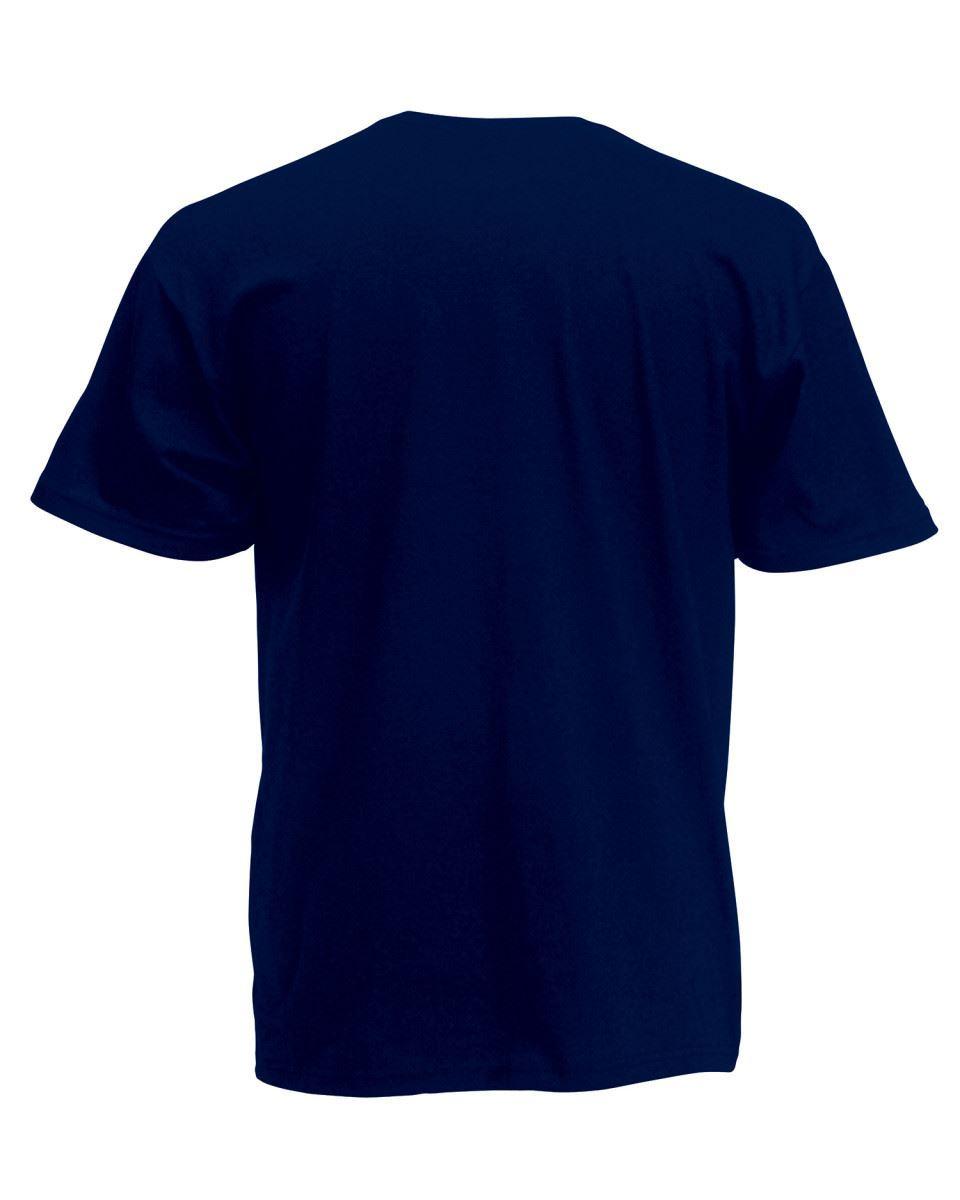 5 Pack Men/'s Fruit of the Loom Plain 100/% Cotton Blank Tee Shirt Tshirt T-Shirt