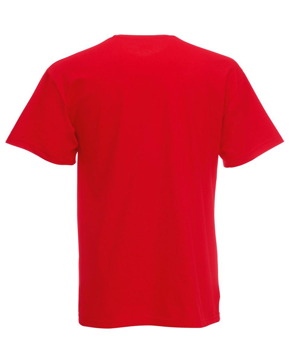 Fruit of the Loom Cotton Plain Blank Men/'s Women/'s Original Tshirt T-Shirt NEW