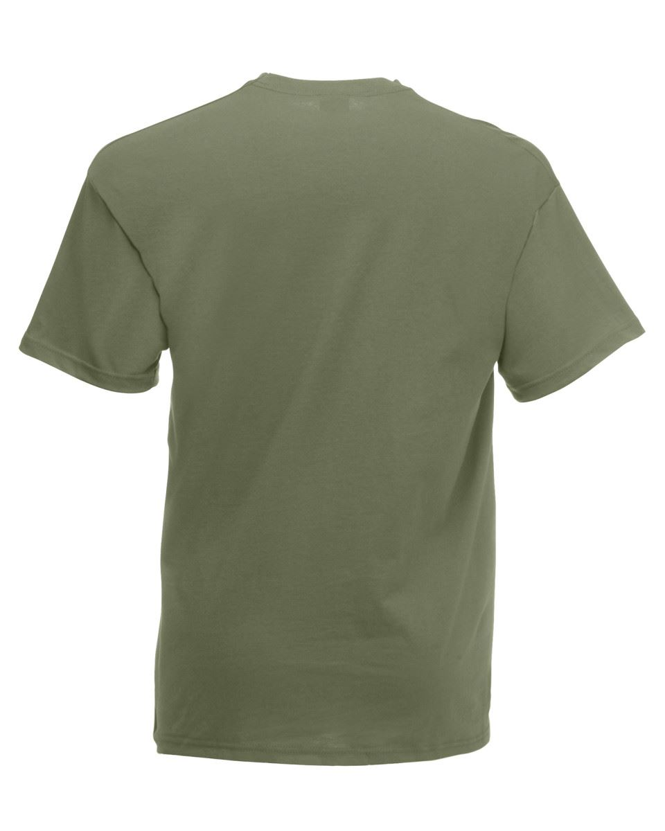 2 x Fruit of the Loom SUPER PREMIUM T Shirt 100/% Heavy Cotton Blank Tee Shirts