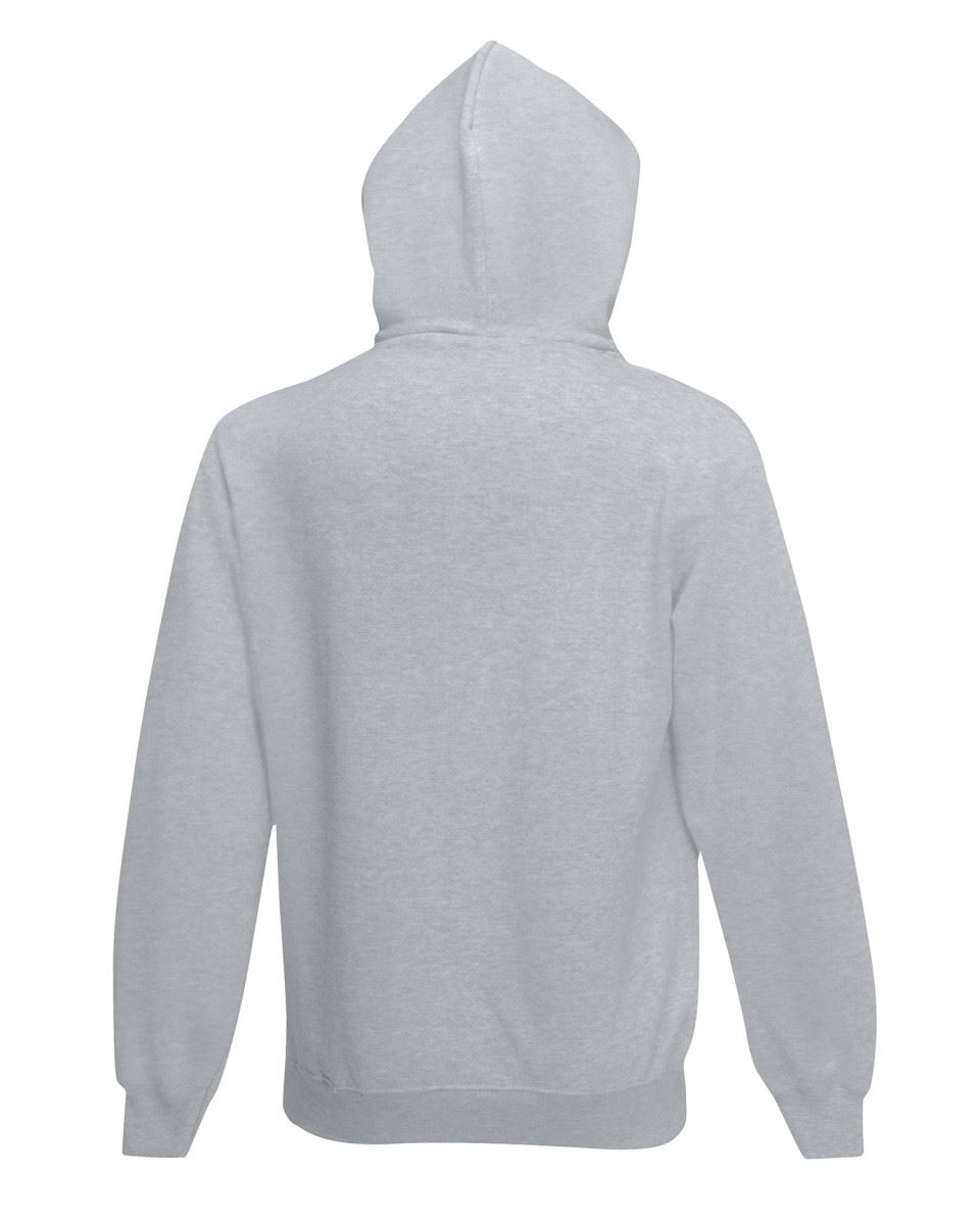 Fruit of the Loom Mens Classic Full Zip Up Hooded Sweat Jacket Casual Jumper TOP