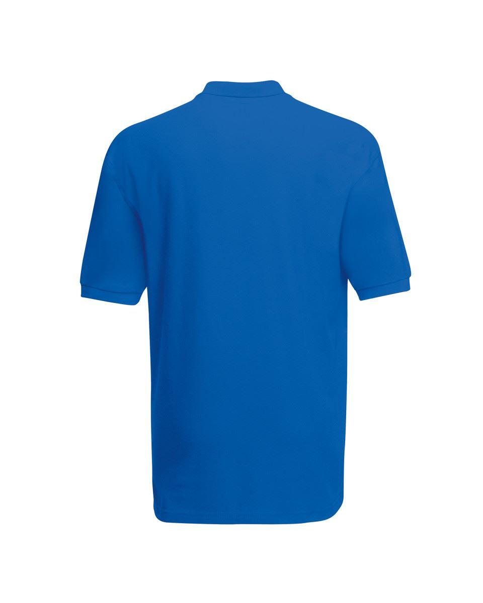 Fruit Of The Loom Childrens Kids Girls Boys 65//35 Pique Polo Shirts T-shirt Tee