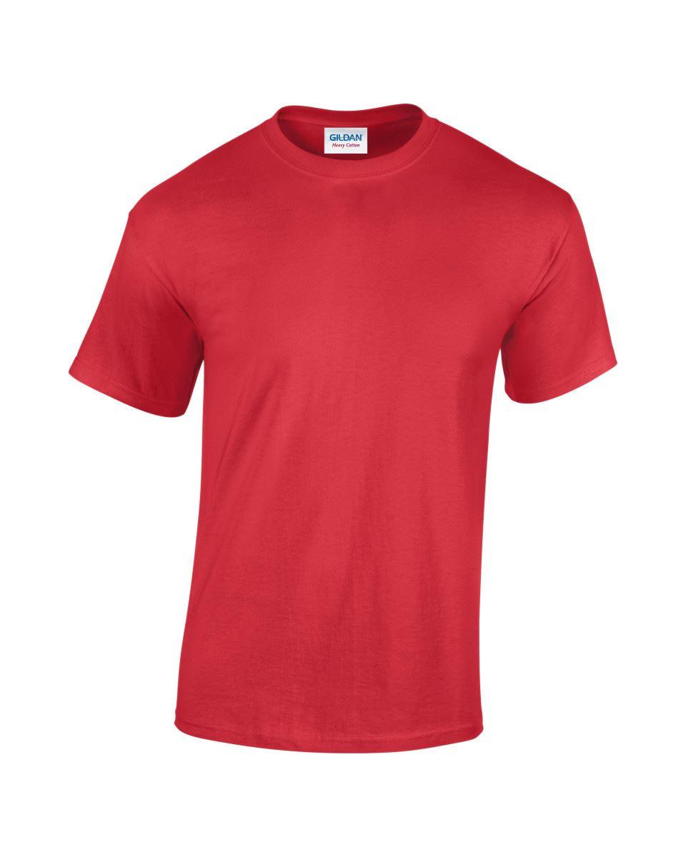 Gildan Mens Womens Heavy Cotton Plain T-Shirt Tee T Shirt Short 50 COLOURS