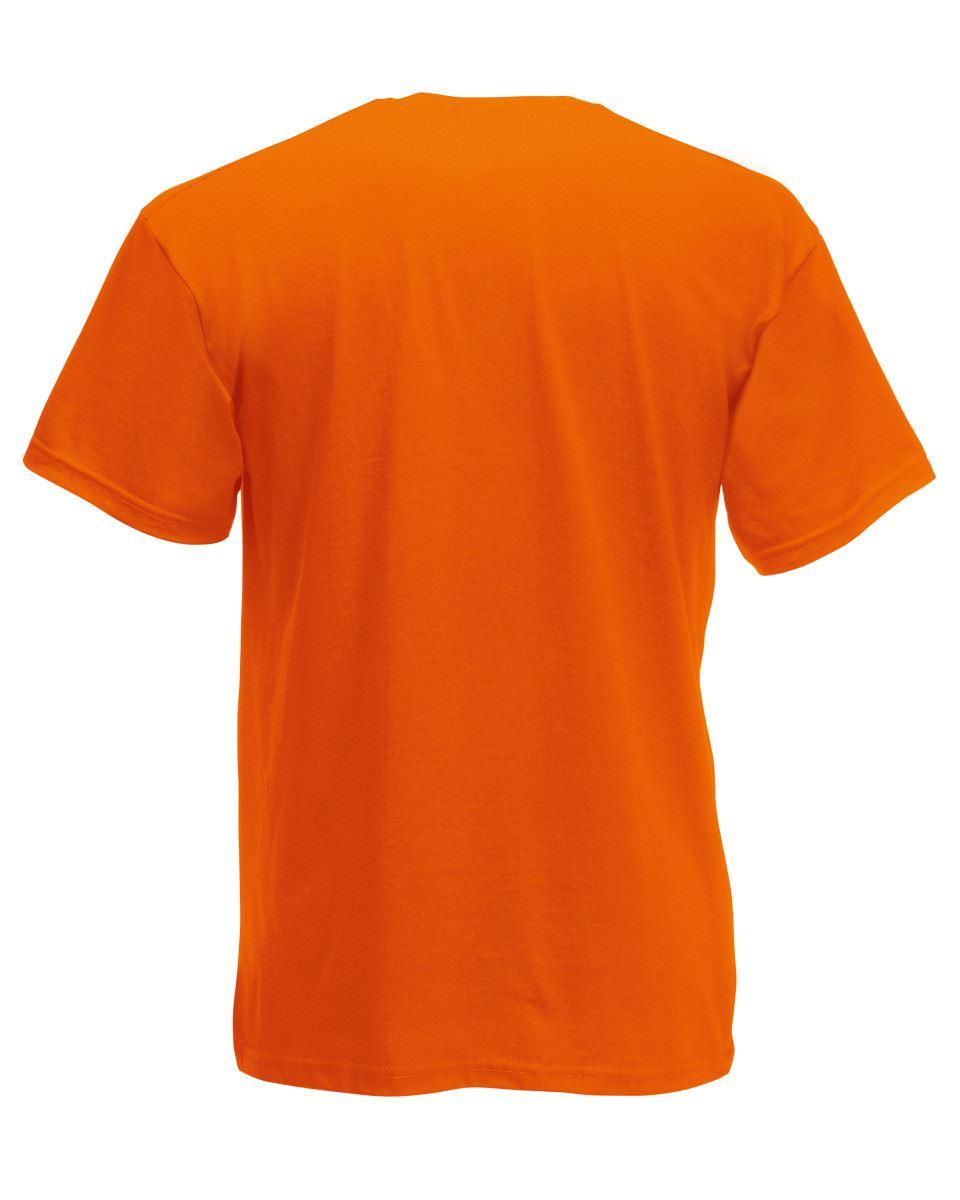 Fruit Of The Loom Plain Mens Short Sleeves Valueweight V Neck T-Shirt TShirt