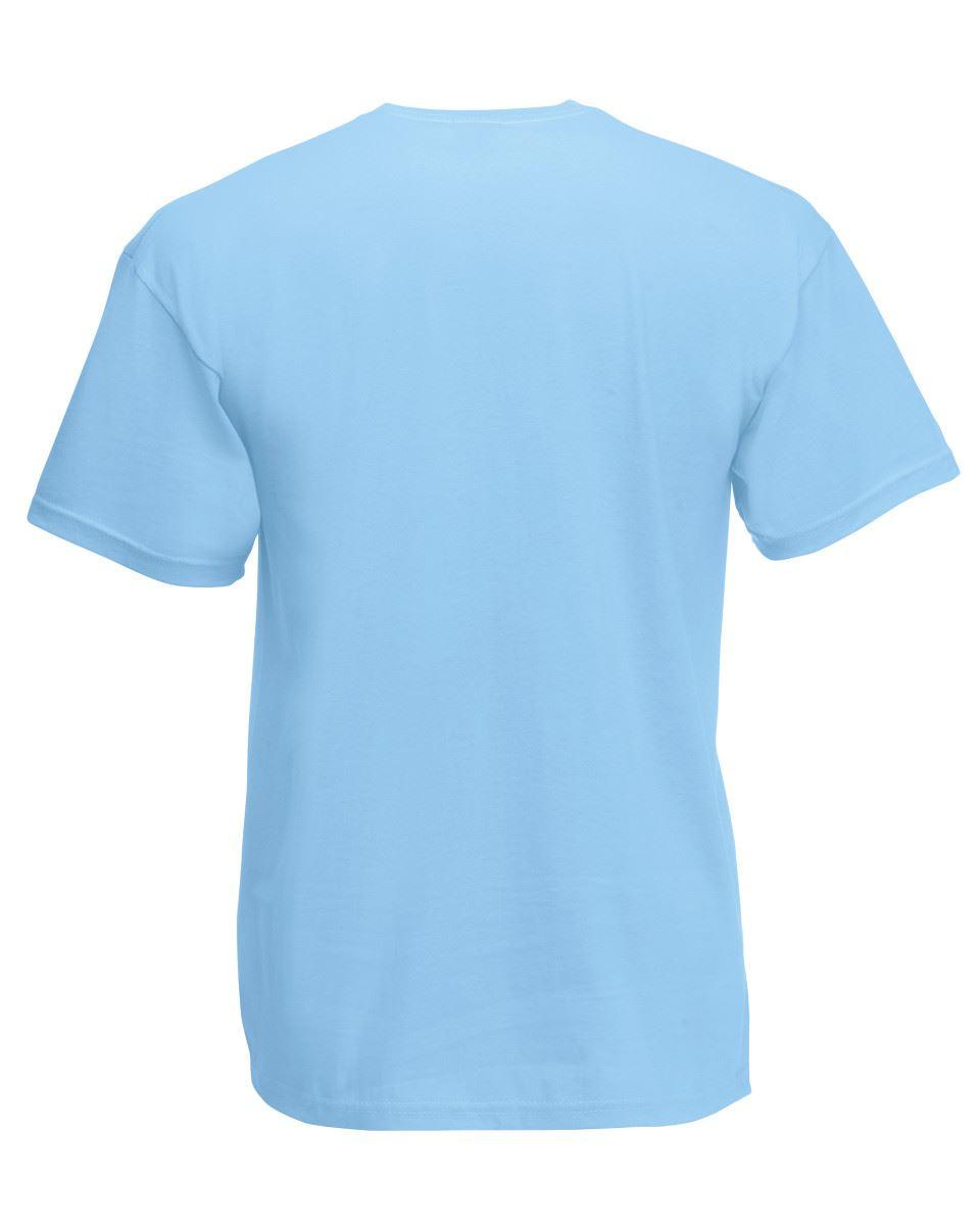 Fruit of the Loom Enfants/'S T-Shirt Plain Top Enfants Garçons Filles École Toutes Tailles