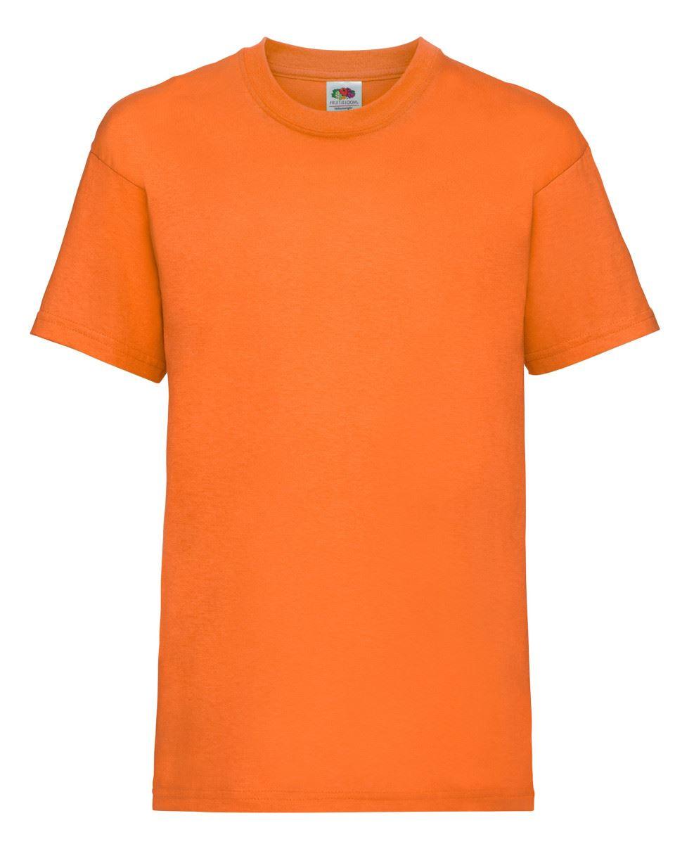 FRUIT OF THE LOOM Valueweight per bambini Plain T-shirt girocollo