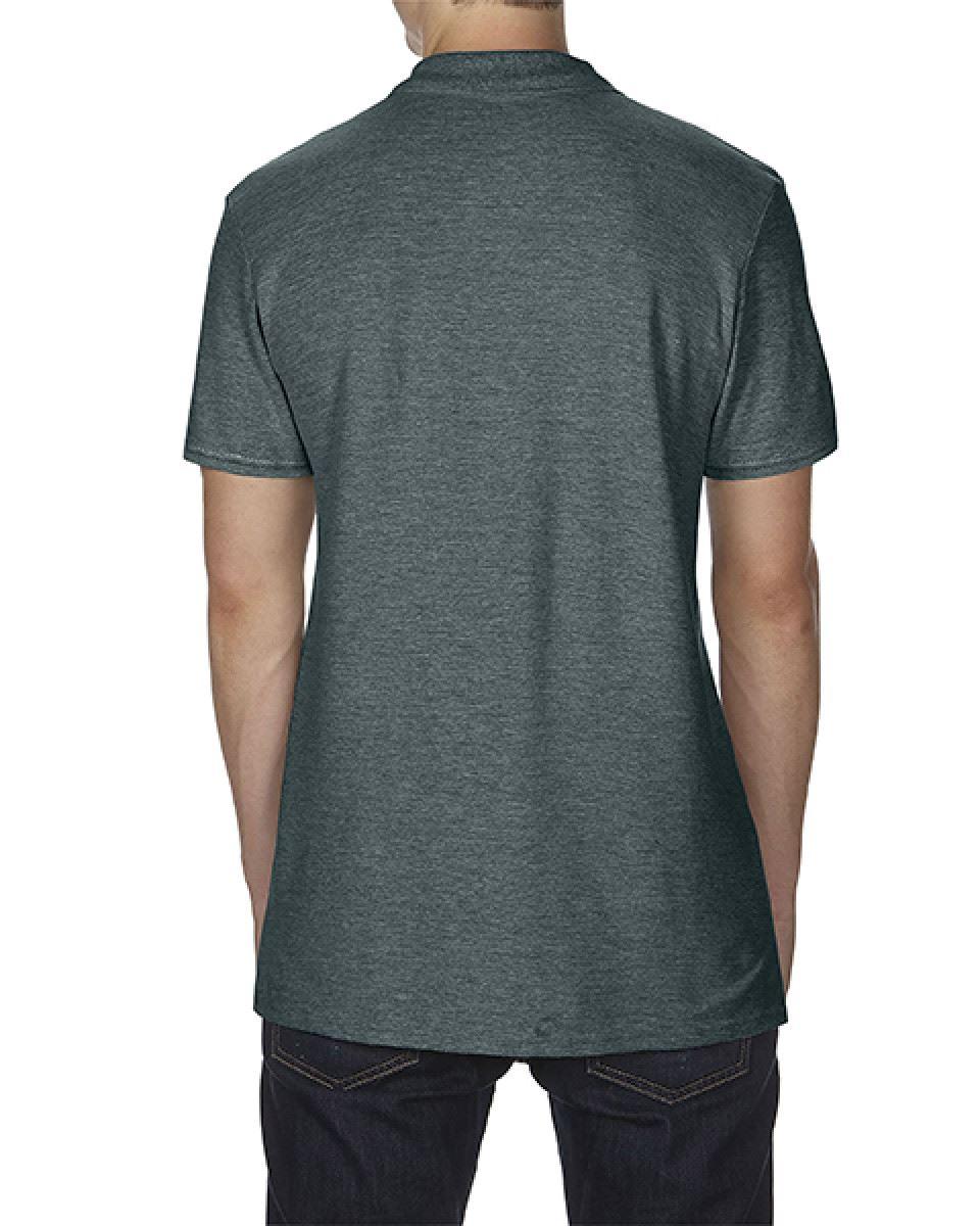 Gildan Mens Softstyle Adult Double Pique Cadat Collar Polo Shirts T-shirt