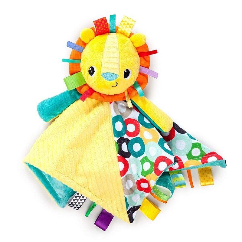 Bright Starts Taggies Cuddles N Tags Blankie Lion 1 2 3 6 12 Packs