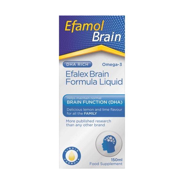 Efamol Brain Efalex Brain Formula Liquid 150ml 1 2 3 6 12 Packs
