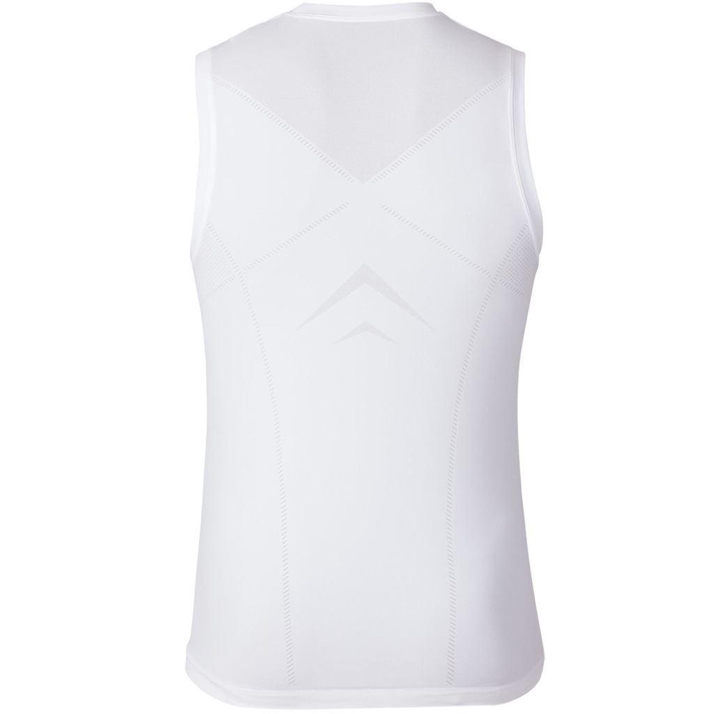 Odlo Evolution Baselayer Singlet Body fit Training Vest Mens Sport Tank Top