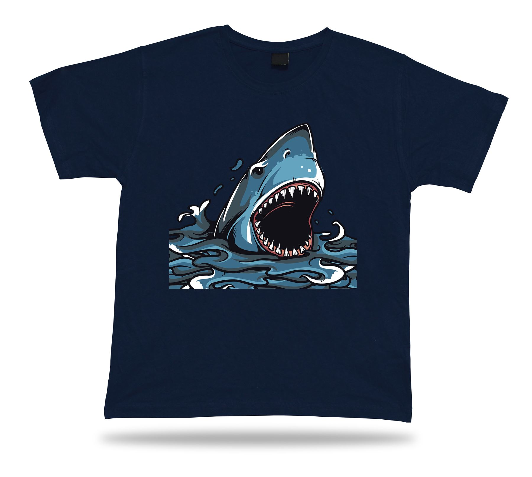 Predator shark in the sea best tee awesome Tshirt  lucky funny birhday idea gift