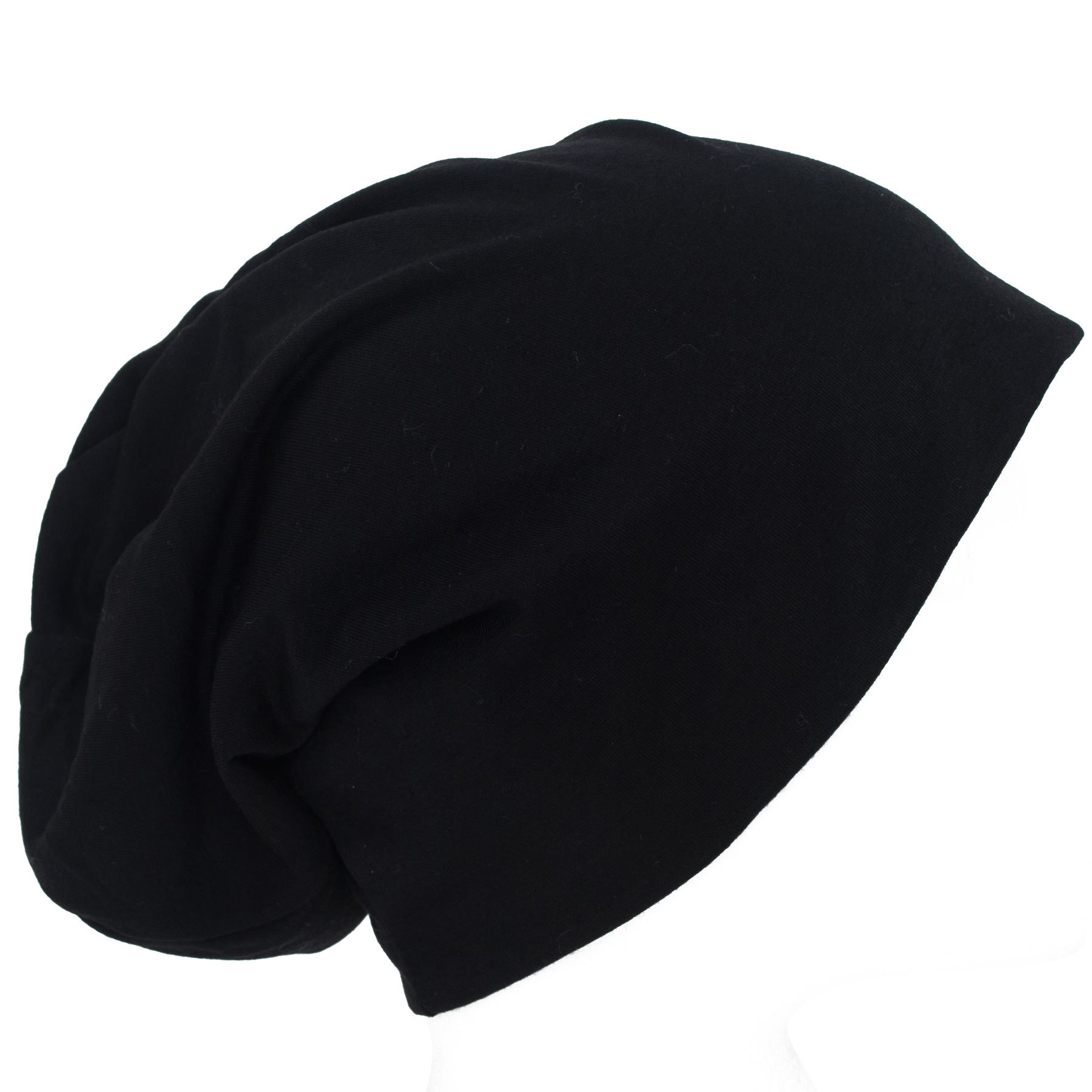 Plain Soft Unisex Baggy Beany Hat