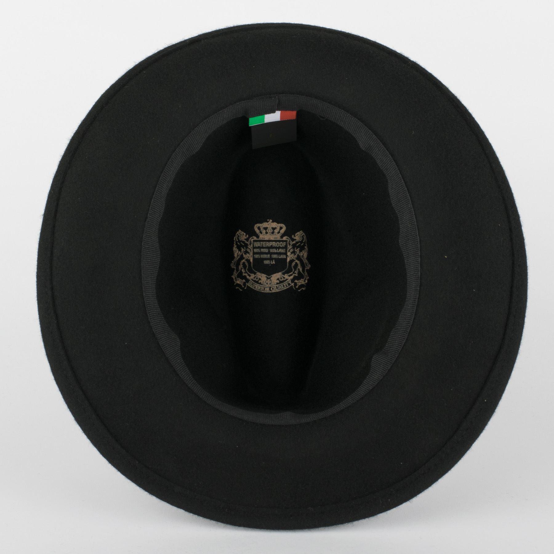 Fedora Feltro 100/% Lana Fatto a Mano in Italia