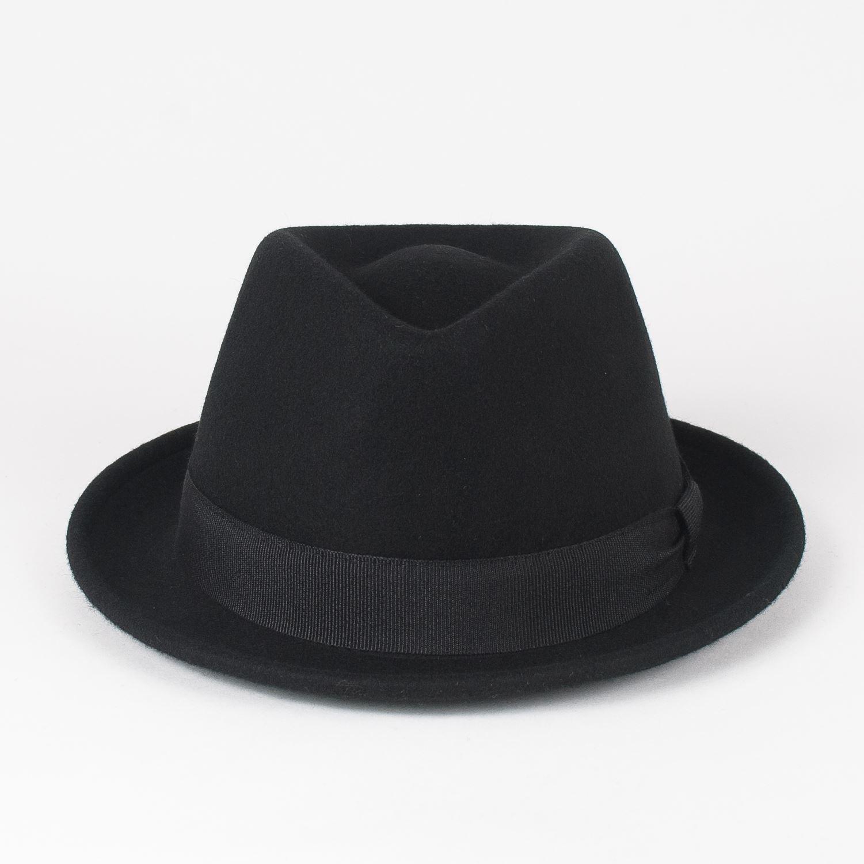 Handmade in Italy Elegant 100/% Wool Trilby Hat Waterproof /& Crushable