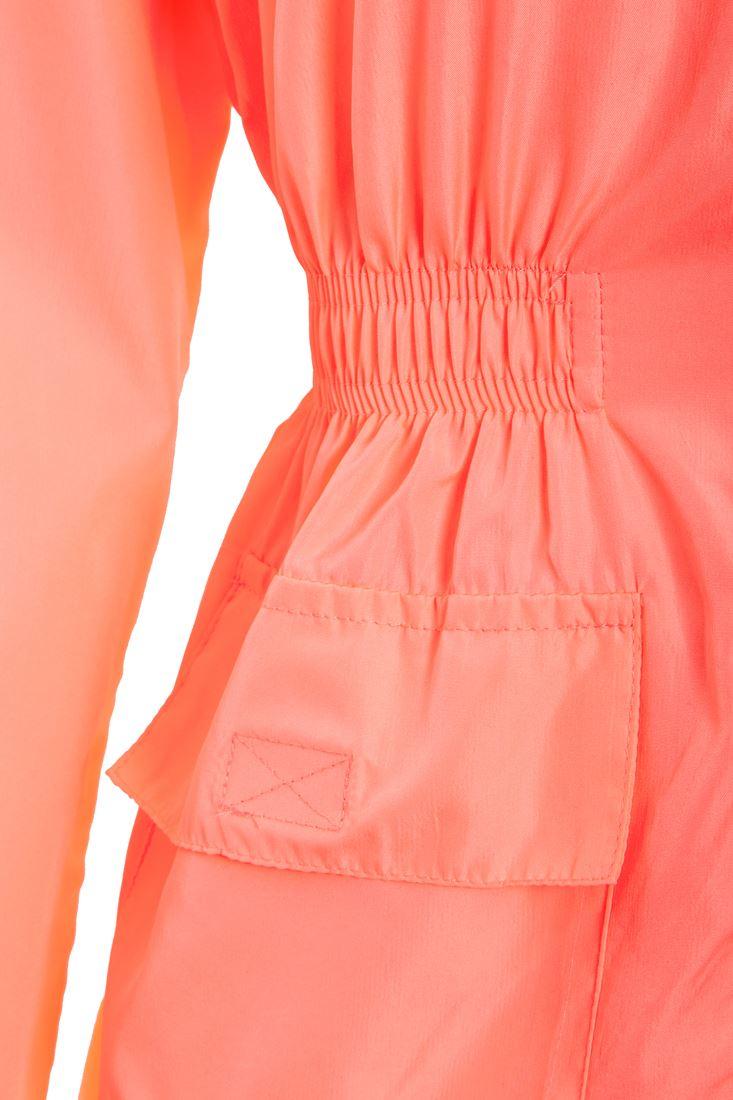 Girls Rain Mac Neon Showerproof Raincoat Jacket Ages Size 7 to 13 Years Coat
