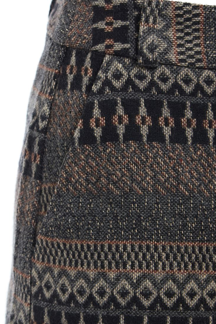 Femme Tweed Coton Short taille haute moulante courte neuf taille 8 10 12 14 16 18