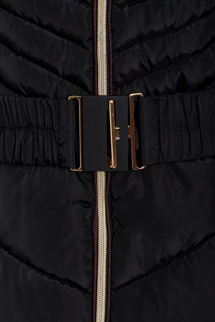 Da Donna Taglie Forti 10 12 14 16 18 Premium In Finta Pelliccia Parka con cappuccio cappotto imbottito