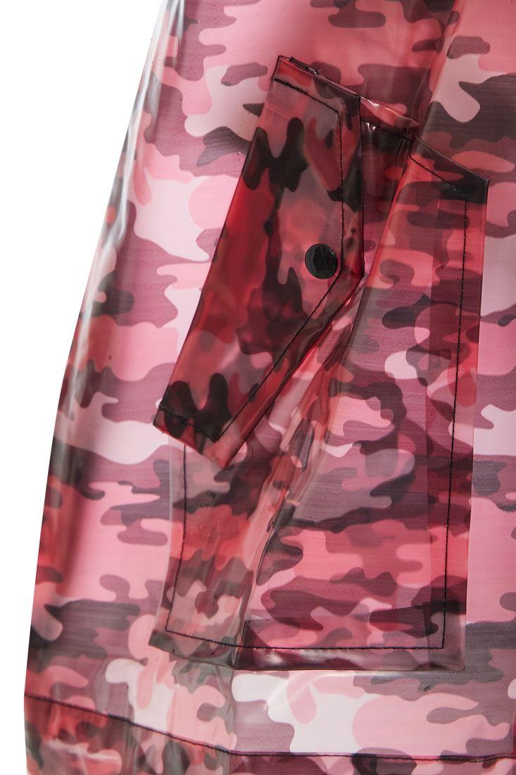 Womens Rain Mac Waterproof Raincoat Ladies Jacket Size 8 10 12 14 16
