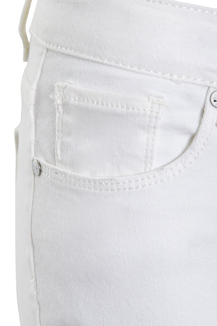 Womens White Skinny Fit Bootcut Jean Flared Denim Jeans Size 6 8 10 12 14 New