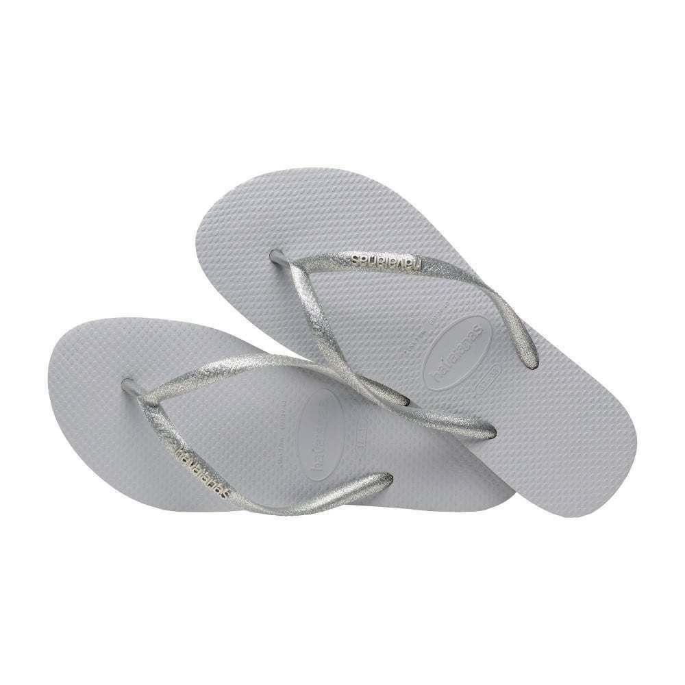 Havaianas Slim Women Flip Flops Logo Met Sandals Vary Colors All Size