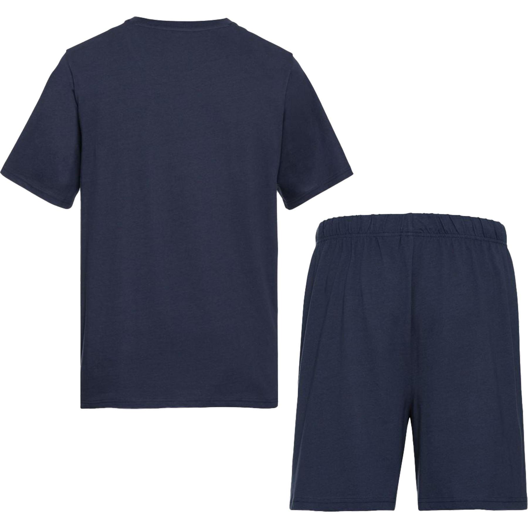 Homme à manches courtes Pyjama short Set géométrique c/&a Ex-store 2Pcs PJ /'S NIGHT WEAR