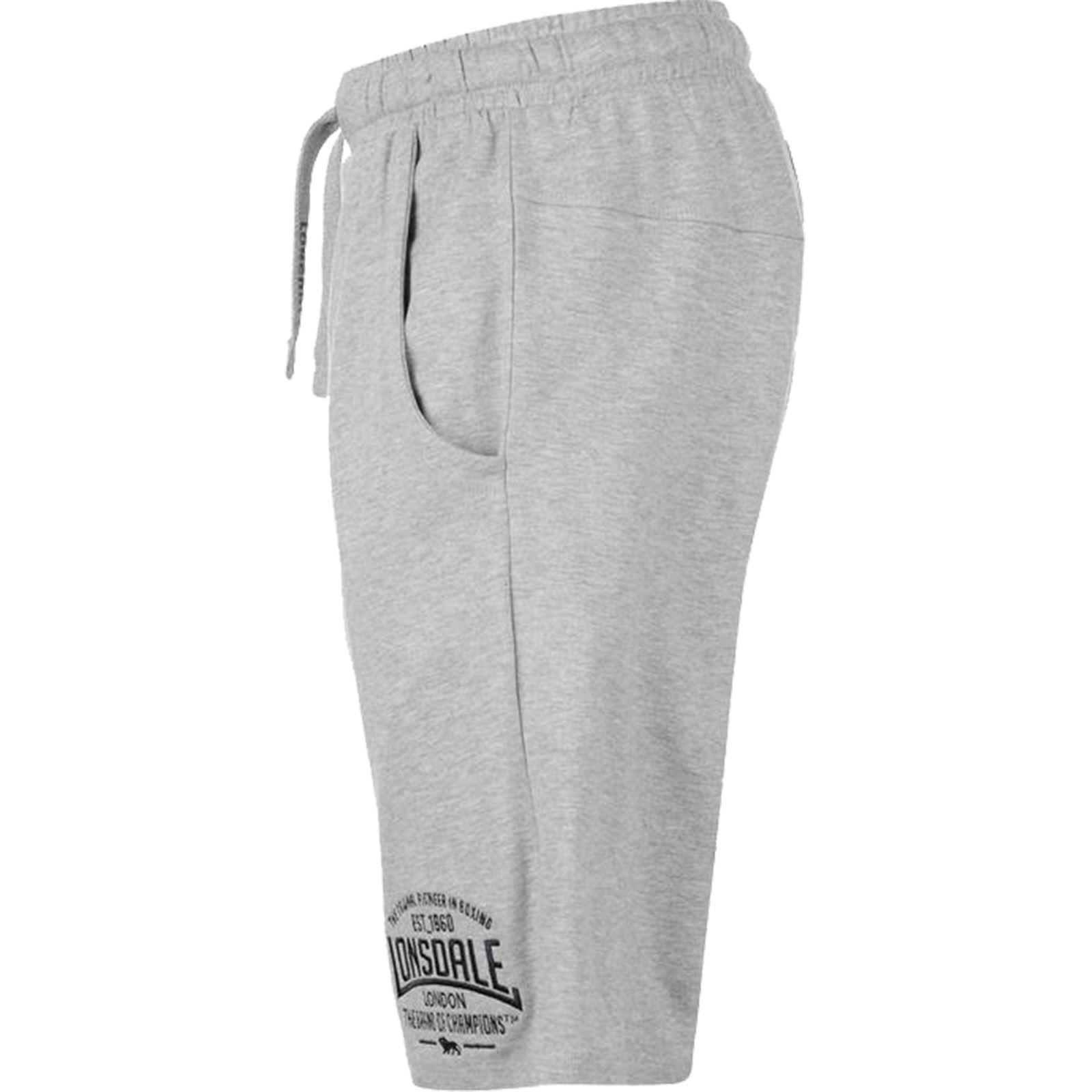 Mens Lonsdale Everlast Gym Fleece Jogger Gym Shorts Elasticated Waist Running