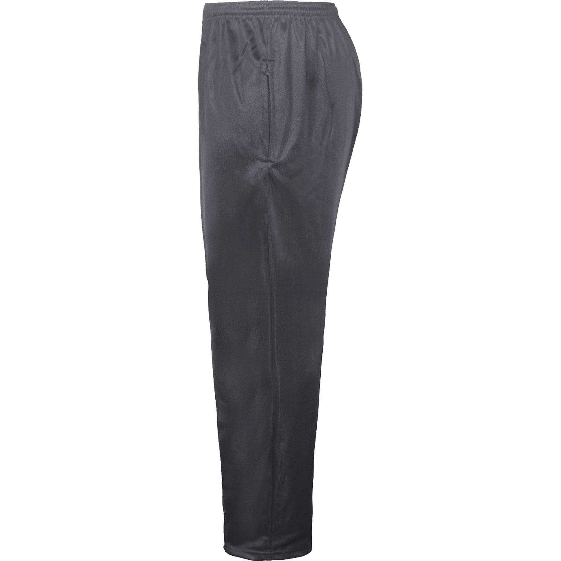 Da Uomo Tinta Unita Seta Tasche Con Cerniera Pantaloni da jogging Pantaloni sportivi da palestra Sport Yoga Bottoms