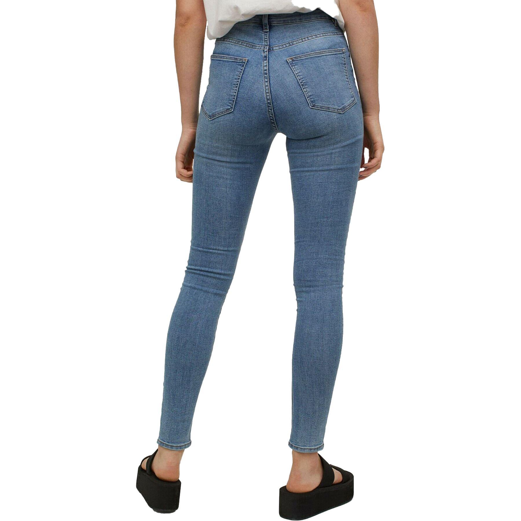 Ex H/&M Divided Ladies Skinny Stretch Spandex Denim Jeans 5 Pockets Basic Soft