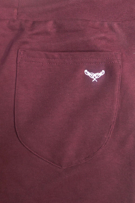 Mens Elasticated Gym Jersey Summer Running Pants Plain Knee Length Fleece Shorts