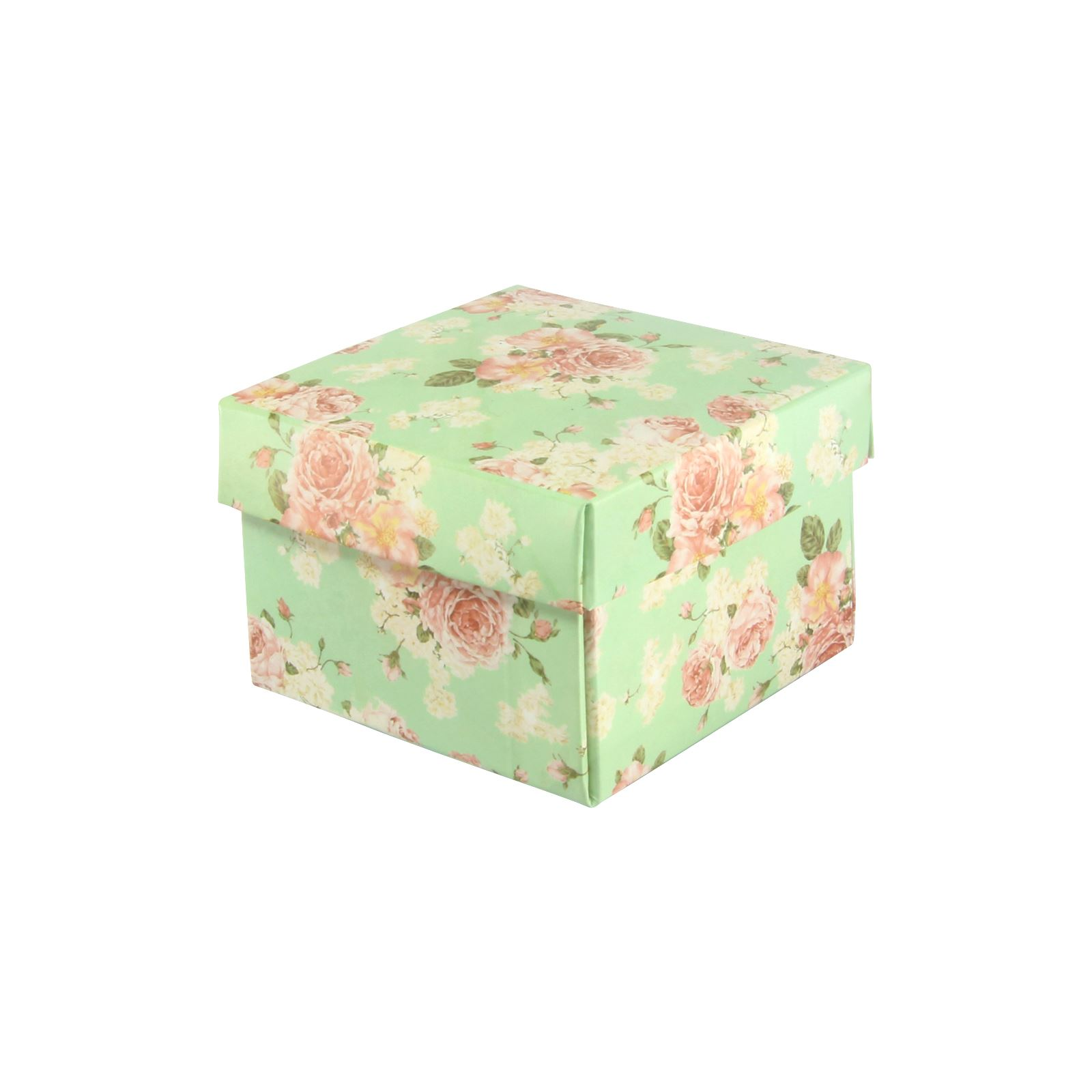 Vintage Flower Print Premium Double Sided Favour and Trinket Boxes Wedding