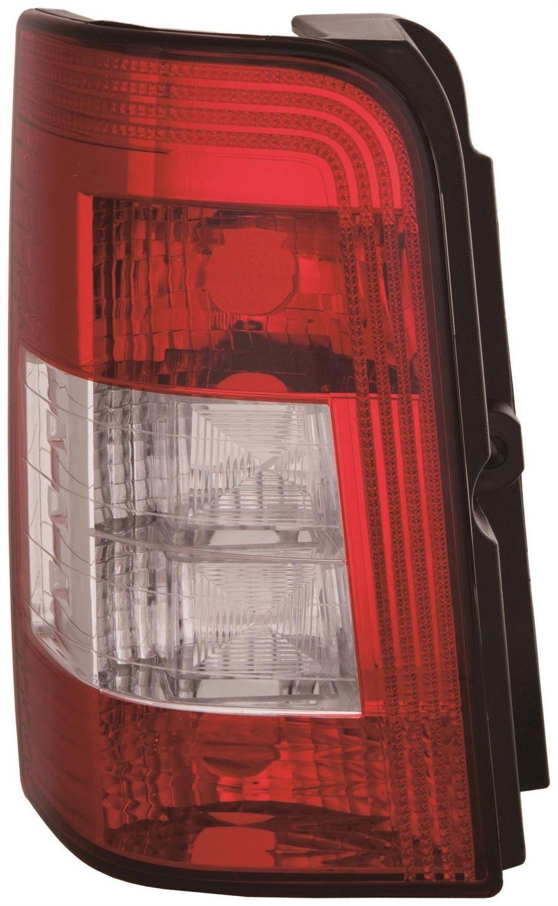 Berlingo Partner Rear Back Tail Light N//S Left 2 Rear Doors Clear 10//2002-2010