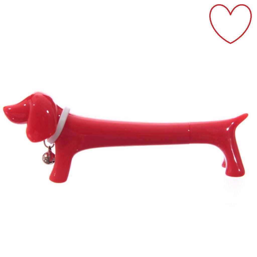 Novelty Pen Sausage Dog Pen Ball Point School Funny Office Stationery