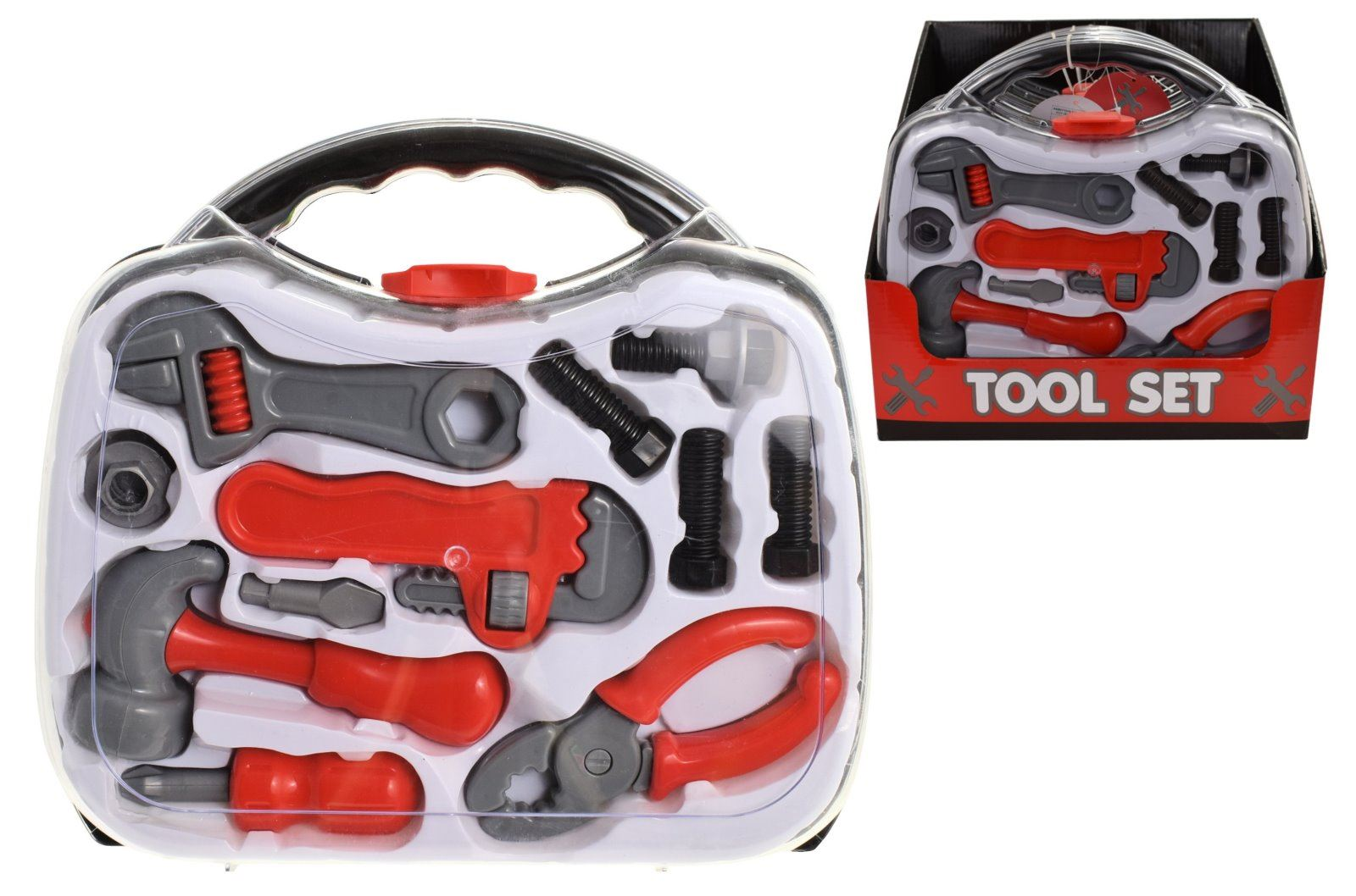 Childrens Toy Set Kids Role Play Hard Carry Case