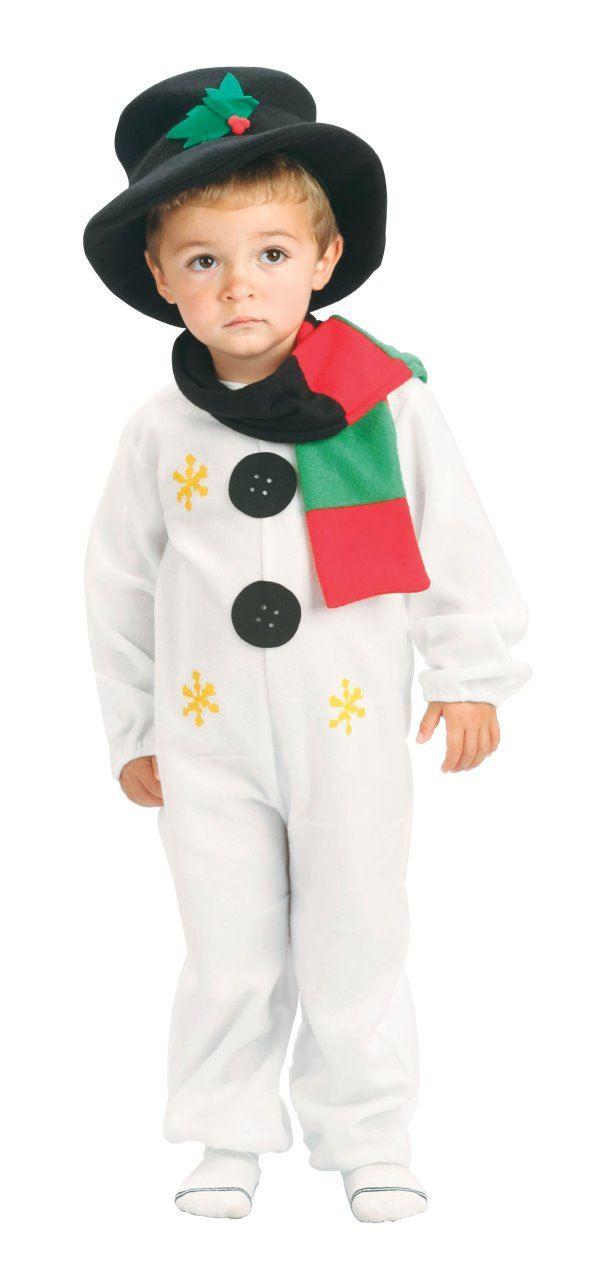 Toddler Ragazza di neve Natale Uomo Vestito Costume