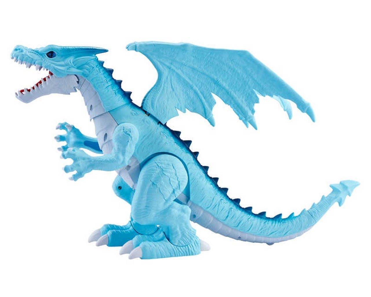 Genuine ROBO Viva Dragons Ghiaccio fuoco di respirazione Giocattolo Bambini Real Life