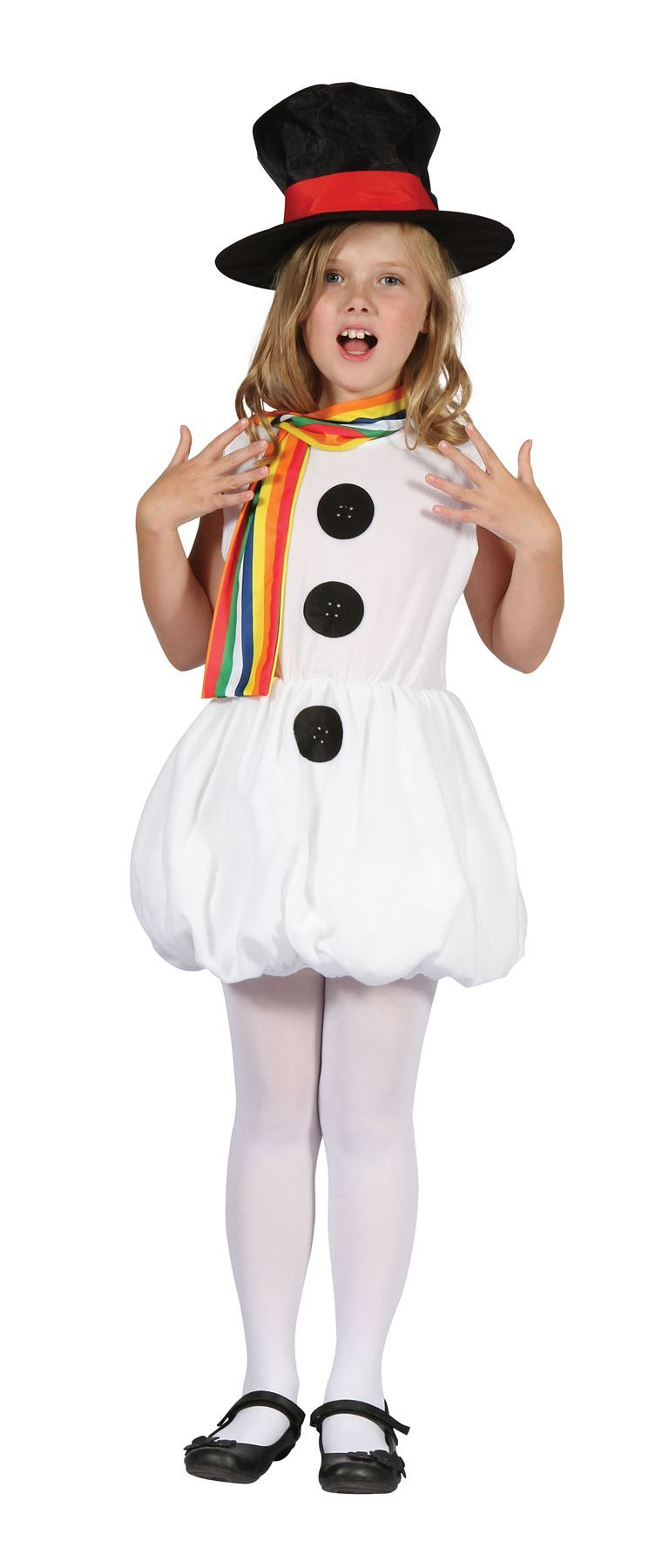Toddler Snow Girl Man Christmas Outfit Fancy Dress