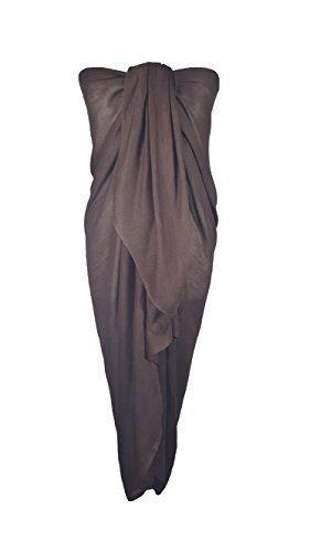Big Size 110cm x 200cm Coverup Plain Sarong Scarf