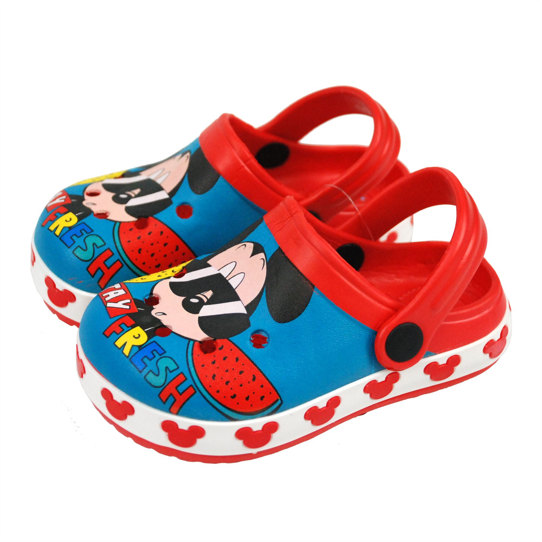 Disney® Mickey Mouse Kids Boys Sandals Beach Slippers Shoes UK Sizes 5 to 1