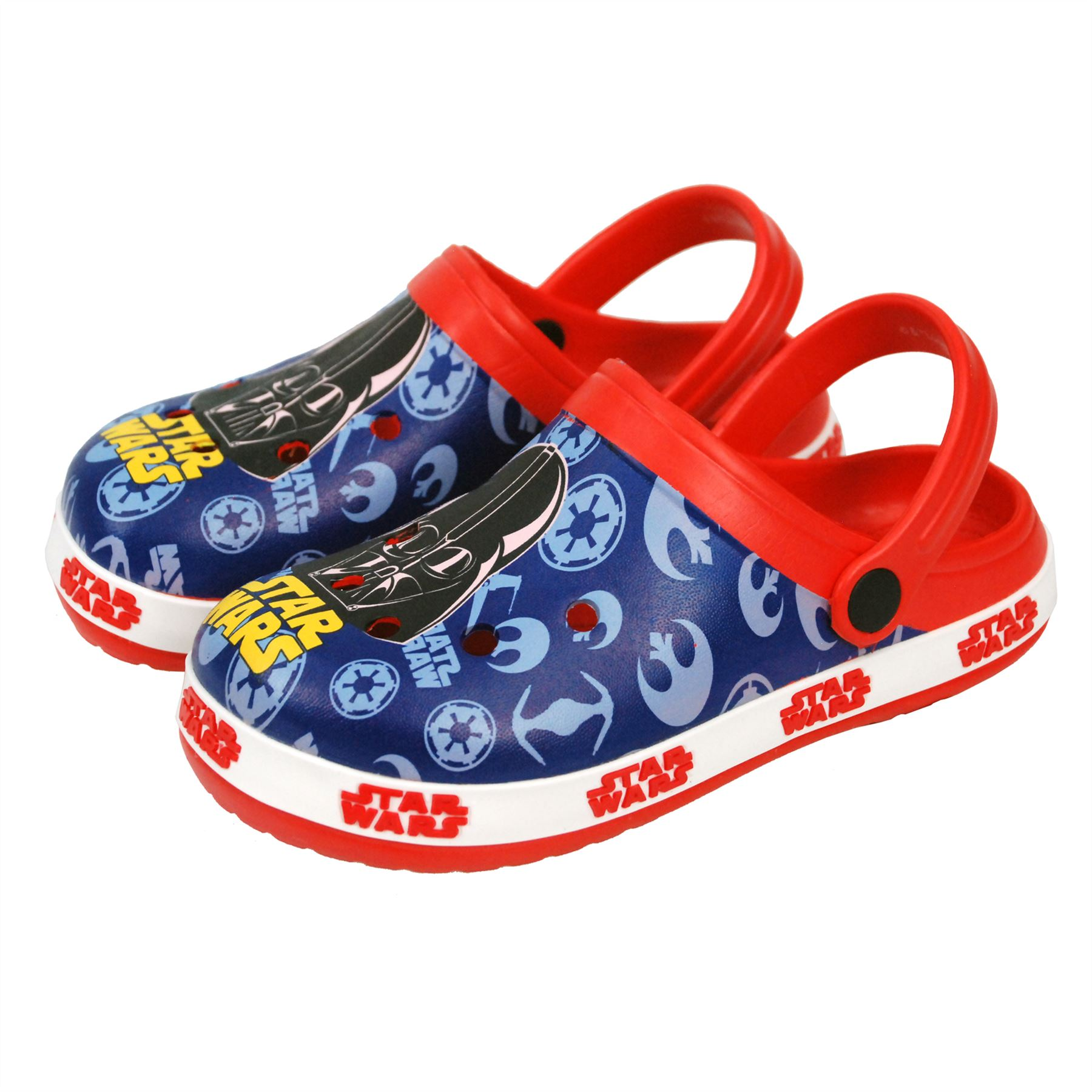 18mth - 9years Disney® Star Wars Boys Sandals Swimming Pool Slippers UK Sizes