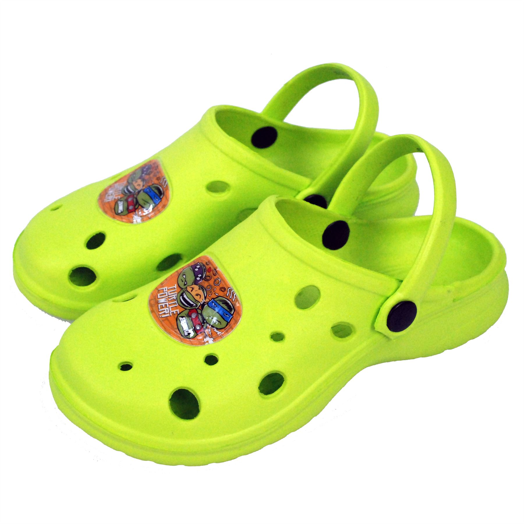 Nickelodeon® Turtles Kids Boys Sandals Beach Slippers Shoes UK Sizes 5 to 1