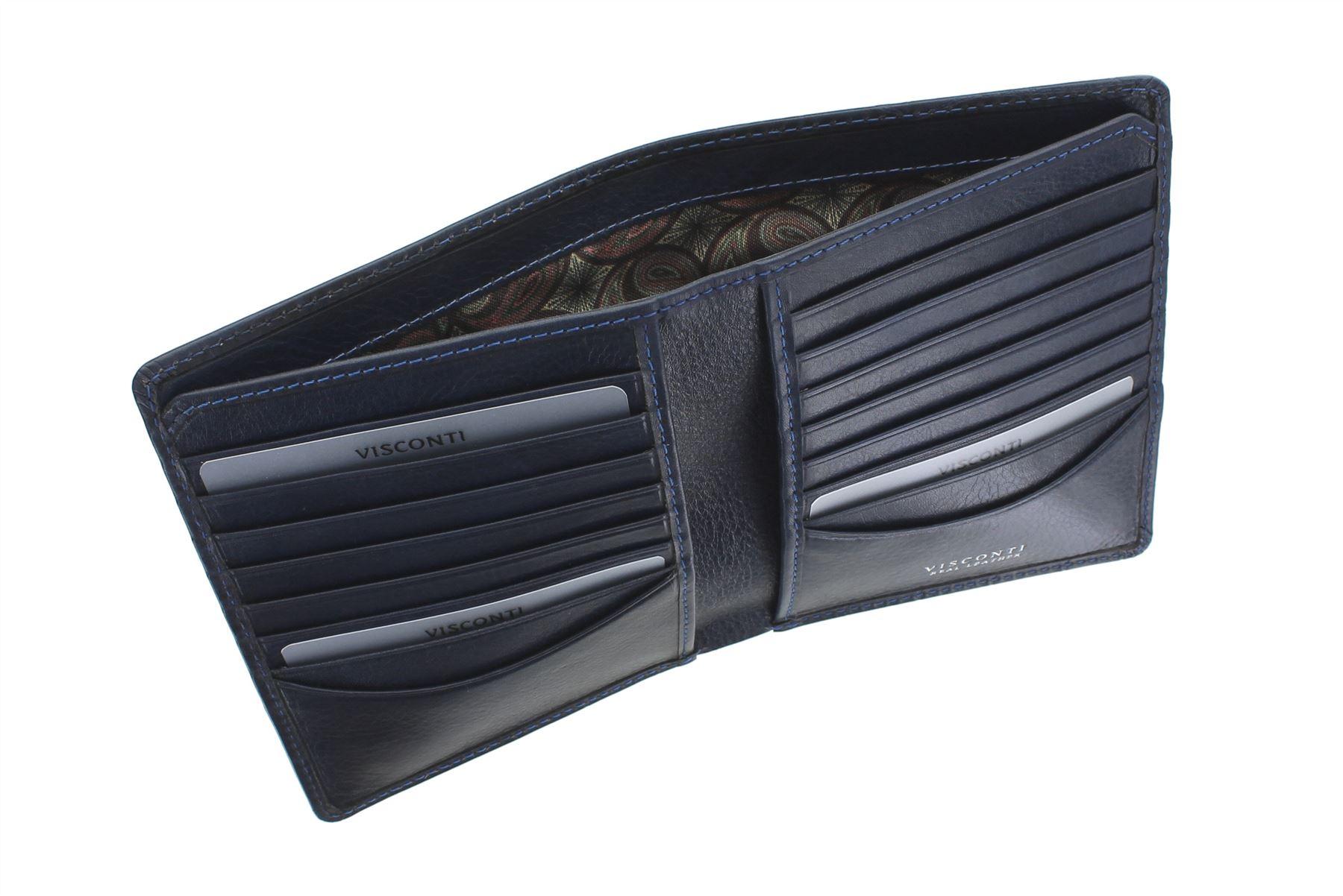 RFID Protected CR93 Visconti Croco Collection PREDATOR Leather Jacket Wallet