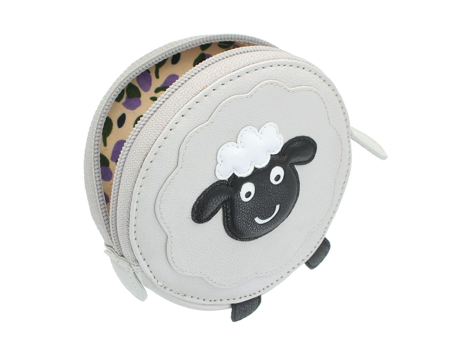 Mala Leather Animal Design Round Leather Coin Purse 4155/_11