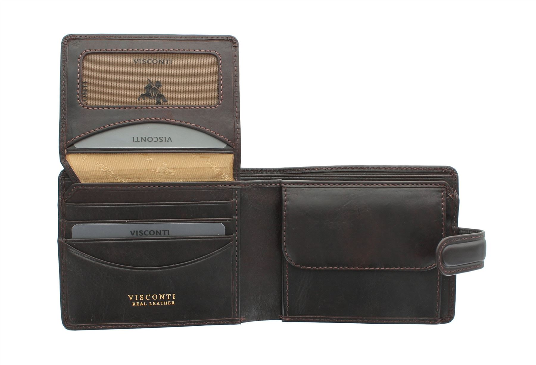 Visconti Tuscany Collection FILIPO Leather Wallet With RFID Protection TSC48