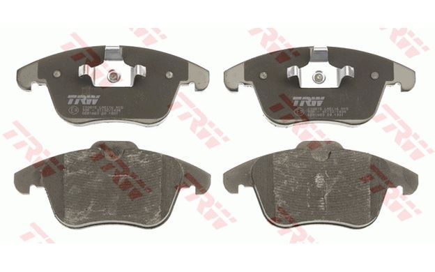 4x TRW Front Brake Pads for LAND ROVER FREELANDER FORD MONDEO S-MAX GDB1683