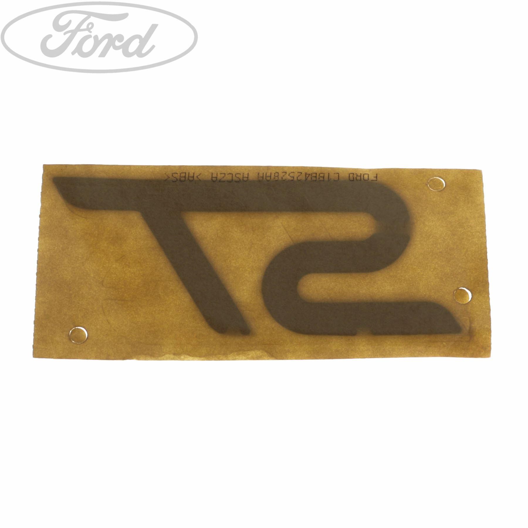 Genuine Ford Fiesta MK7 ST Tailgate Name Plate Badge Emblem 1794608