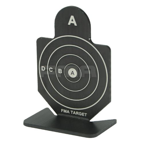 Airsoft FMA metallo SHOOTING target impostato una pistola M SERIE SNIPER gamma Air Rifle