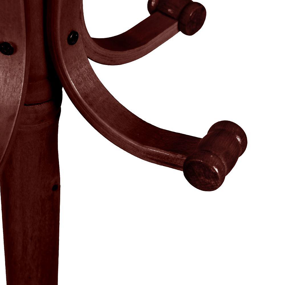 Coat Stand Essentials 5 Hook Coat//Hat//Jacket Standing Bentwood Hanging Rack
