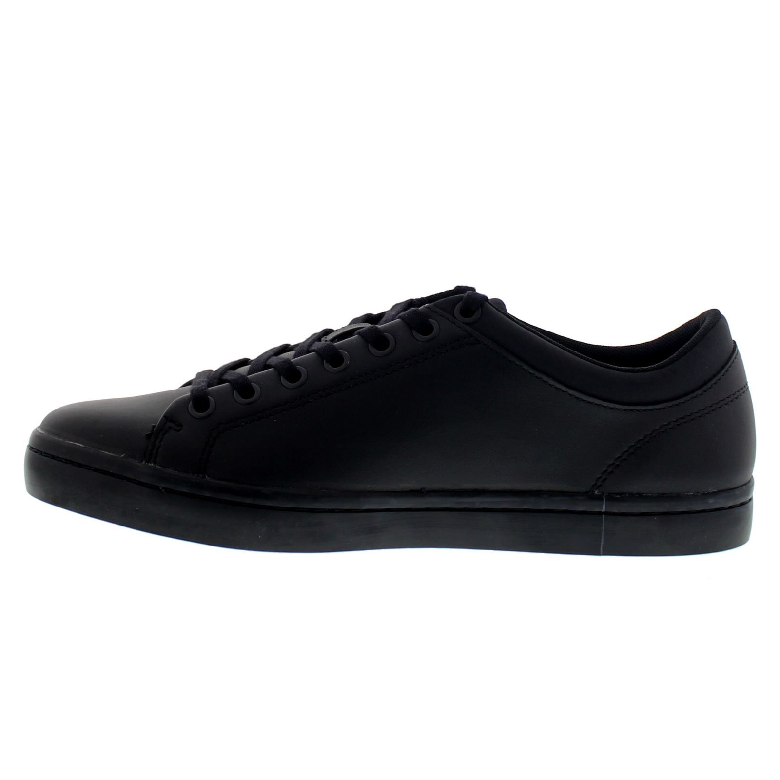Lacoste Straightset SPT 316 1 SPM Black Mens Shoes