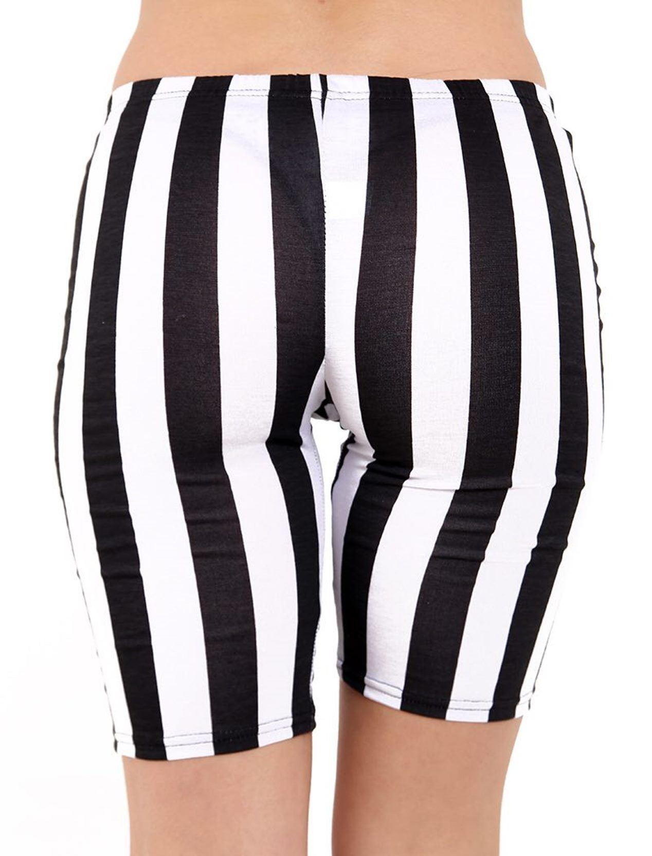 Nouveau femme shorts femmes stretch imprimé motif gym cyclisme short grande taille 8-26