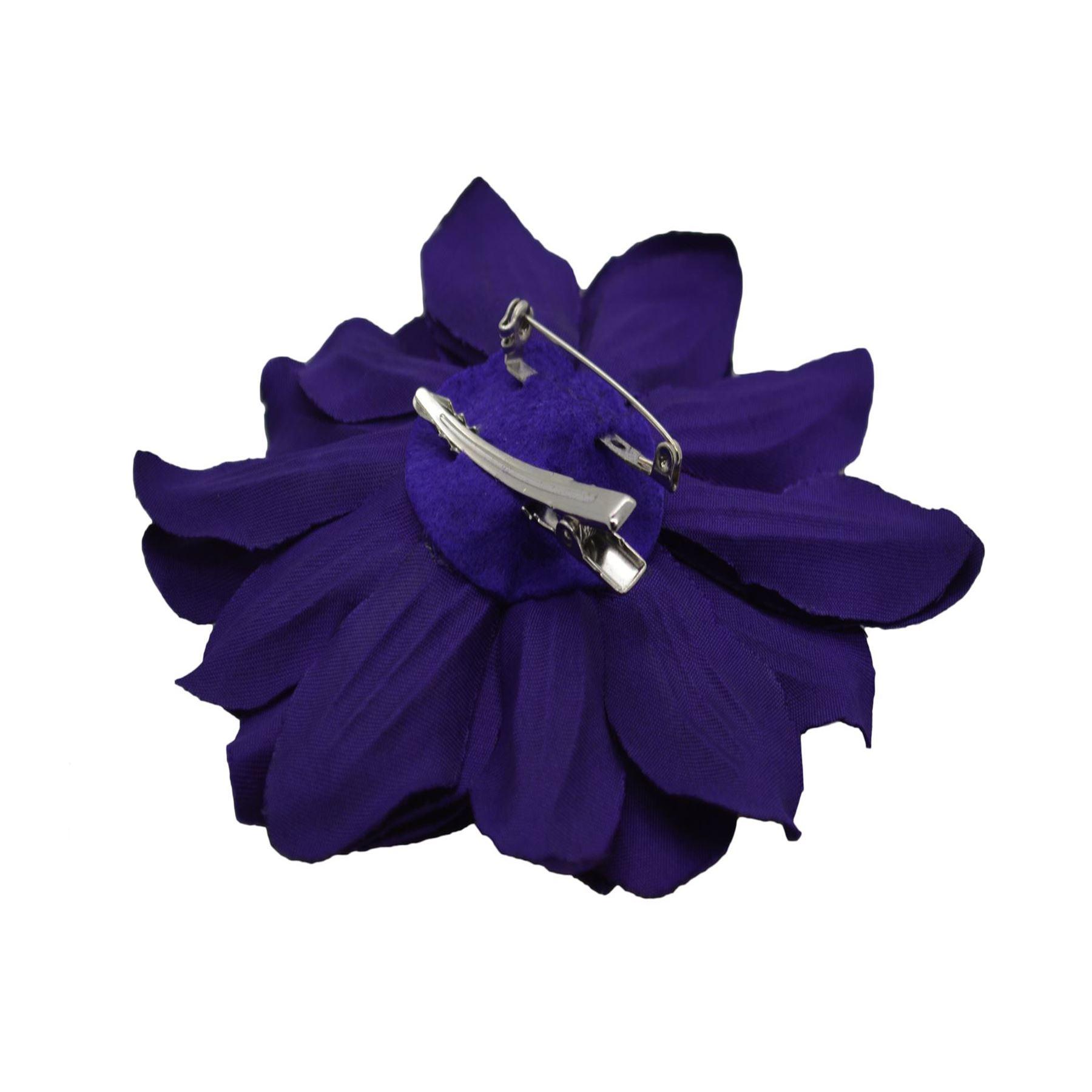 Accesorio para el cabello flor del crisantemo en Concord Clip /& Broche Pin